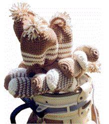 Golf Club Covers to Crochet