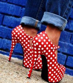 Oh my dear.  Polka dot beauties!!!