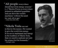 Free electricity - Tesla