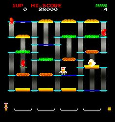 Burgertime | Vintage Coin-Op Arcade Video Game