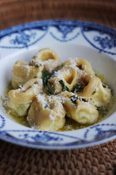 Ricotta and Lemon Tortellini