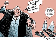 Depardieu Russian Citizen by cartoonist Patrick Chappatte published on 2013-01-07 13:37:53 at Cagle.com. Patrick Chappatte is a Lebanese-Swiss cartoonist who draws for Le Temps, Neue Zürcher Z…