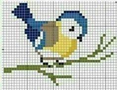 Terrific Pics Cross Stitch bird Tips Blue bird cross stitch Tiny Cross Stitch, Cross Stitch Letters, Cross Stitch Cards, Cross Stitch Animals, Cross Stitch Flowers, Cross Stitching, Modern Cross Stitch Patterns, Cross Stitch Designs, Bird Embroidery