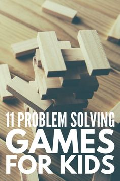 11 fun problem solving activities for kids to improve social skills, critical thinking, conflict resolution, and anger management. Problem Solving Activities, Social Skills Activities, Autism Activities, Problem Solving Skills, Activities For Kids, Learning Tips, Critical Thinking Activities, Kids Learning, Task Cards