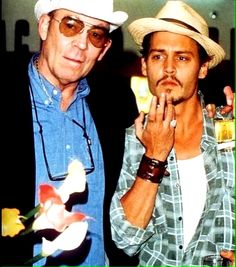 Hunter S. Thompson & Johnny Depp