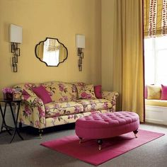 Gelb Wohnzimmer