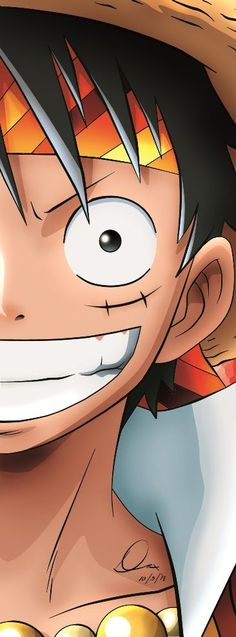 Luffy de One Piece mi anime favorito ♡