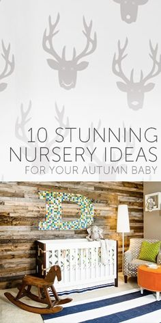 10 Stunning Nursery Ideas for Your Autumn Baby Boy Nursey, Baby Boy Rooms, Baby Bedroom, Baby Boy Nurseries, Baby On The Way, Our Baby, Nursery Inspiration, Nursery Ideas, Plank Walls