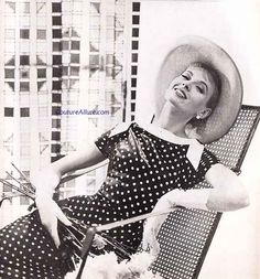 Couture Allure Vintage Fashion: Polka Dots - 1956