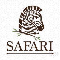 safari zebra head