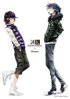 K: Project - Yata Misaki & Fushimi Saruhiko