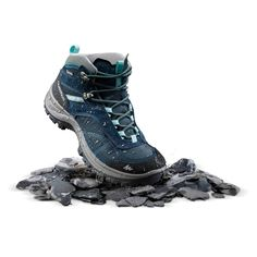 cf4f6aeaa Women s Mountain Hiking Mid Waterproof Shoes 100