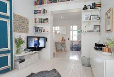 Artistically Decorated Small Apartment   iDesignArch   Interior Design, Architecture  Interior Decorating