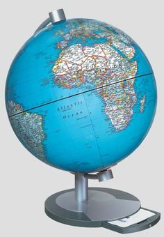 Athens Table Globe - great globe which includes a detailed register.