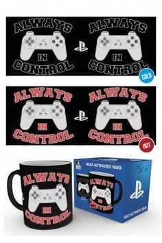 Playstation In Control Heat Changing Mug