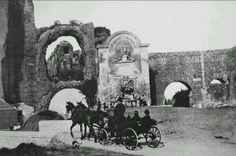 Porta Furba in carrozza. Ca. 1886.