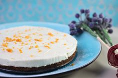 Get the recipe for this simple vegan lemon cheesecake that is also grain-free and refined sugar free! So simple to make and delicious for veganuary...