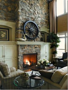 Fireplace Wishes And Mantel Dreams