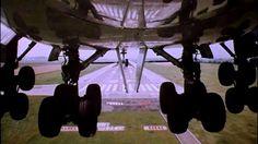 INCREDIBLE 747 LANDING GEAR VIEW ! #aviation #airport #airplane #plane #aircraft #flight #planespotting #beautiful #aviationlovers #cockpit #fly #boeing #airbus #crew #pilot #sky #travel #amazing #avgeek  #airshow #jet