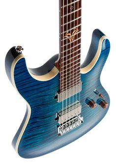 Suhr One-Piece Flame Body Modern Carve Top
