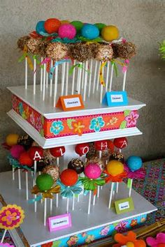 tiki party cake pops - Yahoo! Image Search Results