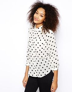American Apparel – Dotted Blouse