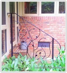 organic iron handrails