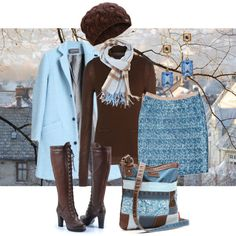 winter morning by sagramora on Polyvore featuring мода, Neil Barrett, Antipodium, By Malene Birger, UNIONBAY, Oscar de la Renta, UGG Australia and Burberry