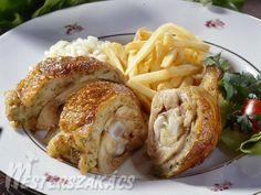 Gödöllői töltött csirke  recept French Toast, Breakfast, Food, Morning Coffee, Essen, Meals, Yemek, Eten