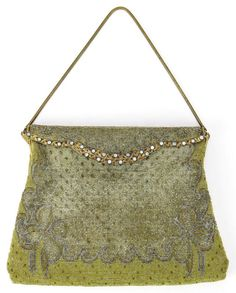 Vintage French Beaded Purse. 8/15, 6pm