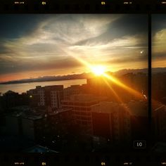 Another amazing sunset in Seattle.