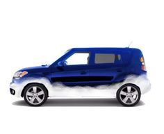Concept for a wrap to put on my Kia Soul.