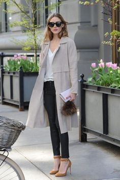 Olivia Palermo at it again with the perfect office style.