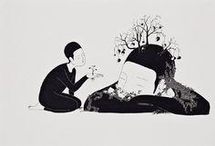 DAEHYUN KIM aka MOONASSI - ILLUSTRATRICE - COREE