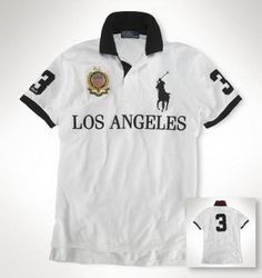 ralph lauren polo outlet online Ralph Lauren Los Angeles NO.3 Polo Shirt  White http