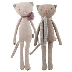 Pets, Home & Garden: Ideal toys for small cats Sewing Art, Sewing Toys, Sewing Projects, Sewing Crafts, Diy Y Manualidades, Fabric Animals, Fabric Toys, Cat Doll, Little Doll