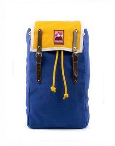 Backpack MbyY Blue. via The Cools