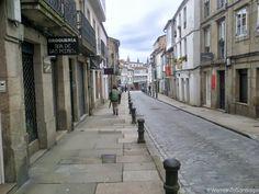 Entrada a Santiago de Compostela. #CaminoPrimitivo