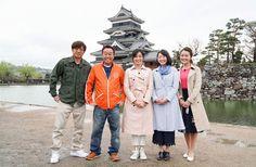 左からさまぁ~ず、大江麻理子、狩野恵里、福田典子。(c)テレビ東京