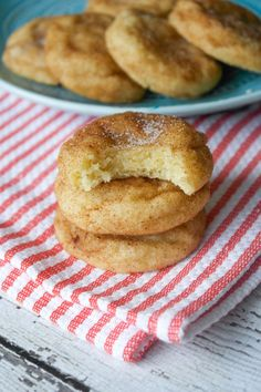 Soft and Thick Snickerdoodle Cookies                                                                                                                                                                                 More