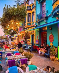 Beautiful Places To Travel, Wonderful Places, Amazing Places, Opening A Coffee Shop, Colourful Buildings, Colorful Houses, Destination Voyage, World Of Color, Travel Aesthetic