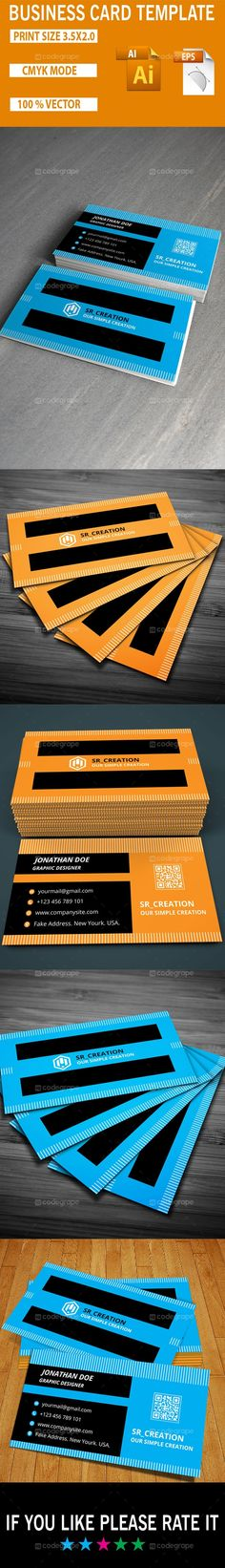 Corporate Business Card Template - http://www.codegrape.com/item/corporate-business-card-template/5334