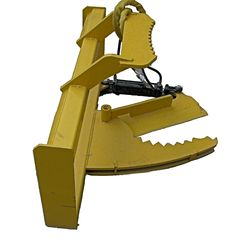 """TREE SHEAR BOBCAT SKID STEER QUICK ATTACHMENT Made of 5/8 steel 1/2 Cutting Edge 3/8 Sides 3X3 Tubing, 6"""" Opening for shearing up to 4""""trees Skid Steer Attachments, Tractor Attachments, Small Tractors, Compact Tractors, Drought Resistant Landscaping, Landscape Rake, Tractor Accessories, Landscaping Equipment, Bobcat Skid Steer"""