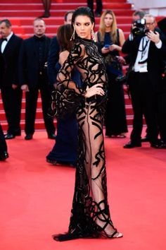 Kendall Jenner en Roberto Cavalli - Festival de Cannes 2016 | MALA CHIC