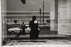 View New Orleans, Self-Portrait by Lee Friedlander on artnet. Browse more artworks Lee Friedlander from Feldschuh Gallery. Lee Friedlander, School Photography, Photography Lessons, Photography Tutorials, Street Photography, White Photography, Photography Composition, 1970s Photography, Film Composition