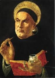 """January 28th - St. Thomas Aquinas:He left the great monument of his learning, the """"Summa Theologica"""", unfinished, for on his way to the second Council of Lyons, ordered there by Gregory X, he fell sick and died at the Cistercian monastery of Fossa Nuova in 1274."""