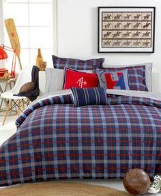 Tommy Hilfiger Boston Plaid Twin/Twin XL Comforter Set