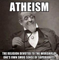 atheism. professing themselves wise they became fools