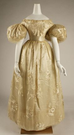 Wedding dress 1834