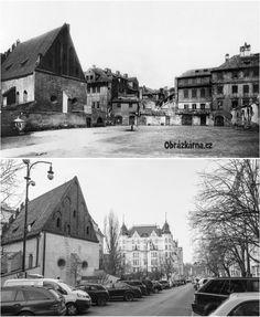Staronová synagoga 1902 Old Pictures, Old Photos, Holy Land, Czech Republic, Historical Photos, Prague, World, Places, Photography